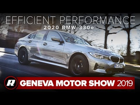 The 2020 BMW 3-Series PHEV gets speed and efficiency | Geneva Motor Show 2019
