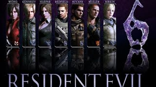 Resident Evil 6  [игрофильм]