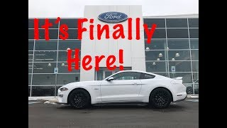 Taking Delivery 2018 Mustang! PLUS MUSTANG SNOW DRIFTING!!!