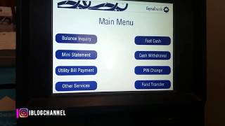 How to Use ATM machine Faysal Bank,HBL Bank and others Bank