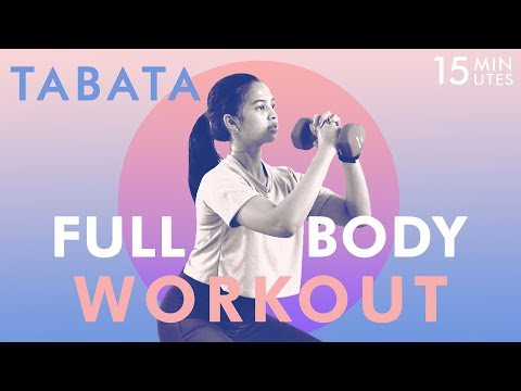 Lemak Seluruh Tubuh Hilang Dengan Gerakan 15 Menit Full Body Workout   Tabata Workout