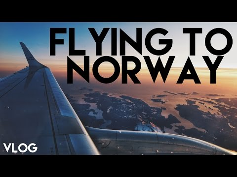 FLYING TO NORWAY