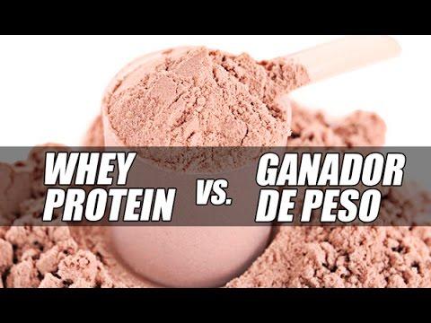 ¿Whey Protein ó Ganador De Peso para ganar músculo?