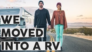 We moved into a RV