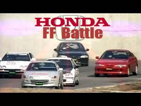 [ENG CC] FF Honda Battle - Integra R, Spoon Civic EK9 1.8L, Civic EG6 Turbo, CRX 1.8L, Trueno ...