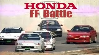 [ENG CC] FF Honda Battle - Integra R, Spoon Civic EK9 1.8L, Civic EG6 Turbo, CRX 1.8L, Trueno HV19