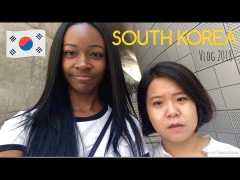 BLACK IN KOREA | First Day - Travel Vlog 1
