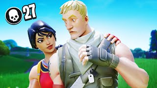 Gambar cover 27 KILLS SOLO - PERSONAL RECORD (Fortnite Battle Royale)