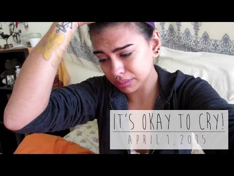 IT'S OKAY TO CRY! - April 1, 2015 | TheZombieeLife
