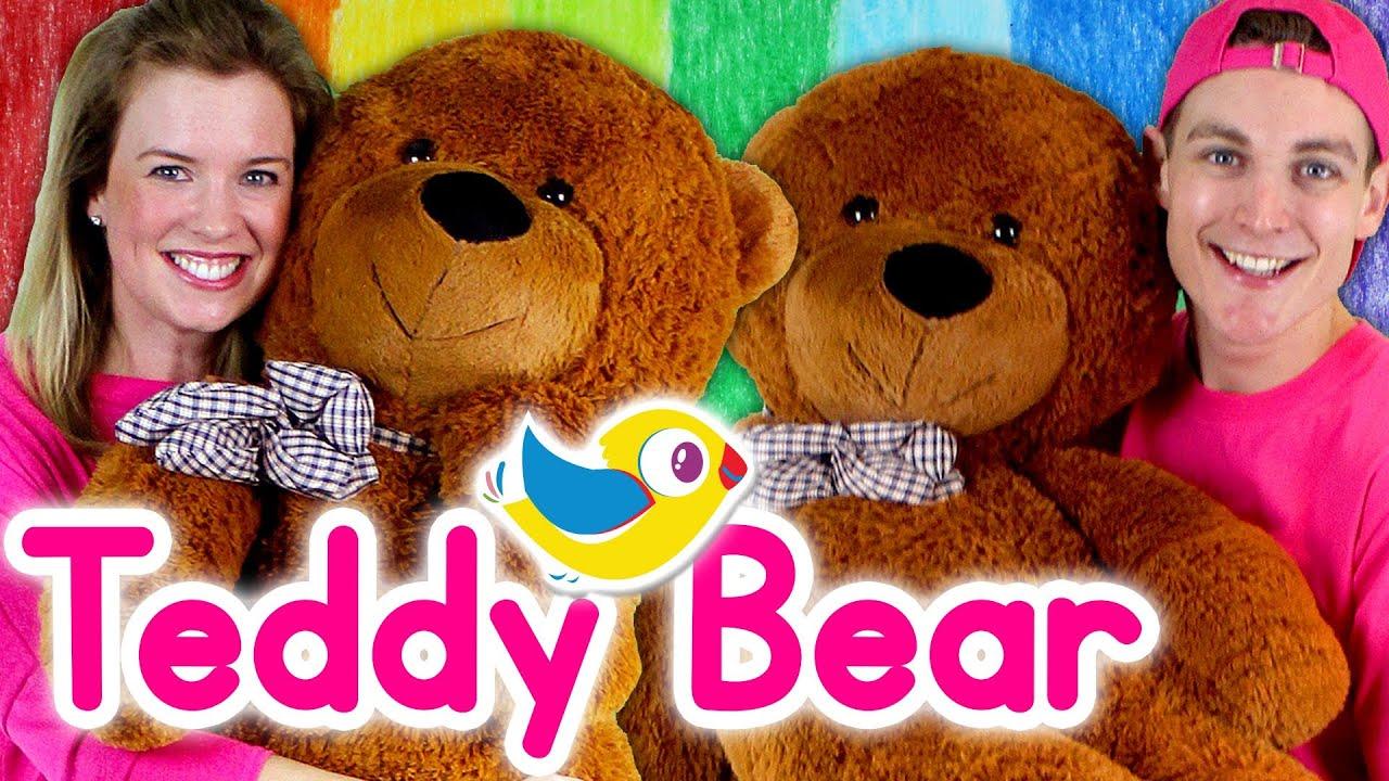Teddy Bear, Teddy Bear, Turn Around - Kids Nursery Rhymes, with Marty Moose!
