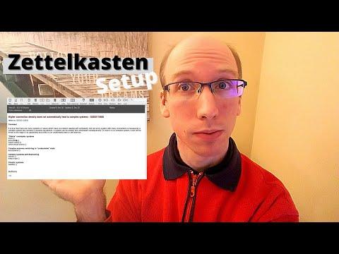 Using a zettelkasten: My zettelkasten setup explained and how I work with the zettelkasten