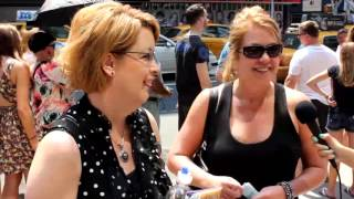 Michelle and Jean Share their NYC Plans