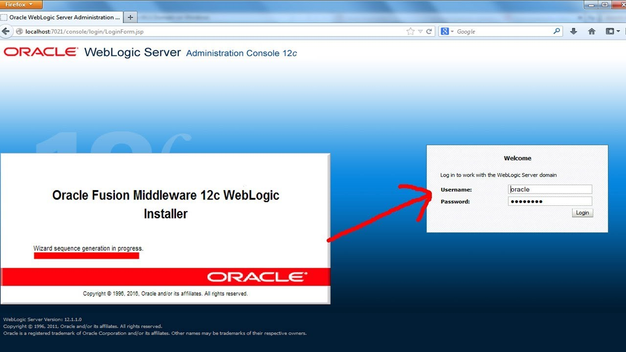 Weblogic Server 12c - Install Oracle Weblogic Server 12c on Windows 10 64  bit @P-2