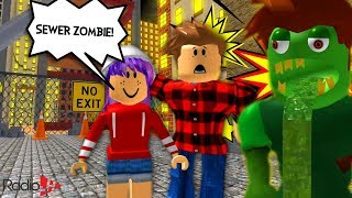 Escape The City Roblox Obby | With LAVA & ZOMBIES Of Course!