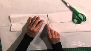 How to Convert a Suit Sleeve to the Two-Piece Suit Sleeve - A Fashion Design Preview