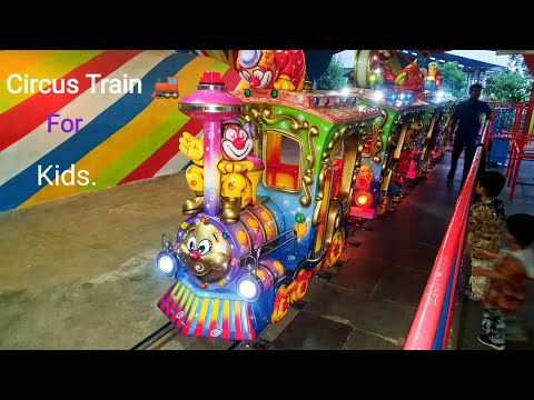 Amazing Circus Train Ride For Kids| Circus Train Ride |