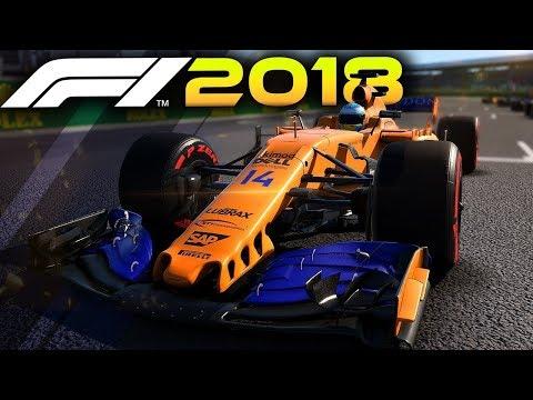 F1 2018 MOD. Mclaren Renault - Spa