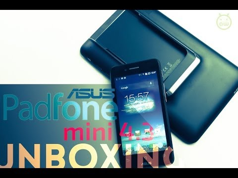 ASUS Padfone Mini 4.3, unboxing in italiano