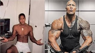 The rock Body transformation  motivational video