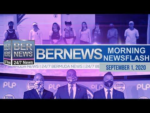 Bermuda Newsflash For Tuesday, Sept 1, 2020