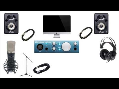 What equipment do I need to setup a budget home studio? (April 2017)