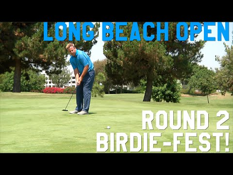 Long Beach Open, Monte Going for the Cut! Golf VLOG