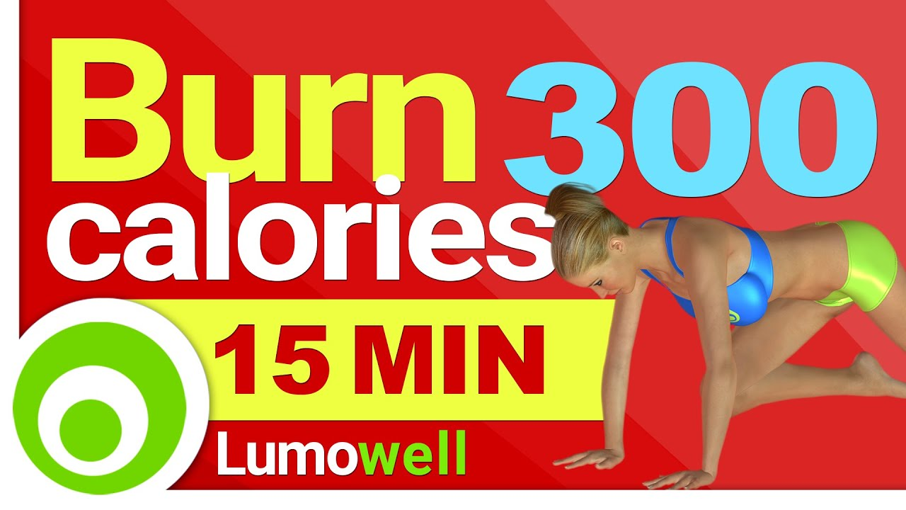 Burn 300 calories in 15 Minutes at Home - Fast Workout for ...