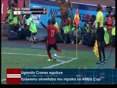 Uganda Cranes egobye