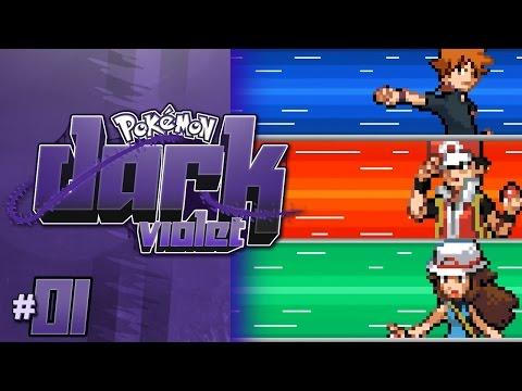 Pokemon Dark Violet Nuzlocke 01 - THE BEST ROM HACK EVER! -