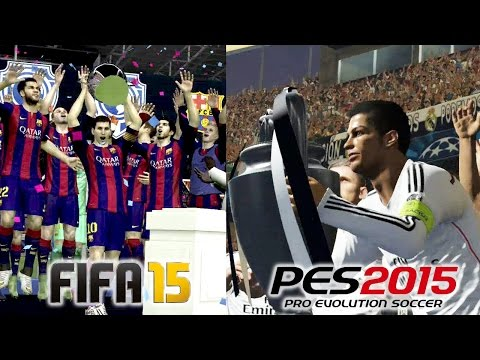 FIFA 15 Vs PES 2015 UEFA Champions League Final Comparison