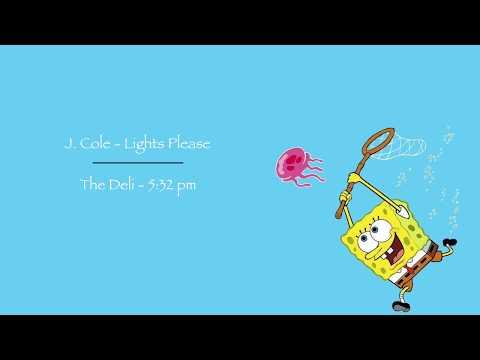 J. Cole - Lights Please  x  The Deli - 5:32 pm (Remix)