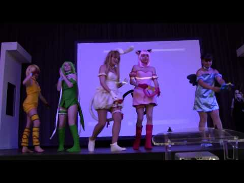 Japan Addict XVII cosplay groupe : Mew mew power