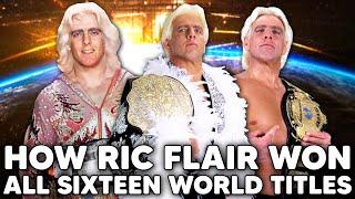 How Ric Flair W๐n ALL SIXTEEN World Titles