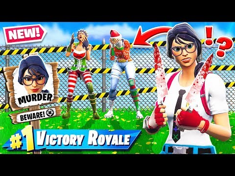 Murder FORTNITE  MYSTERY *NEW* Game Mode in Fortnite Battle Royale thumbnail