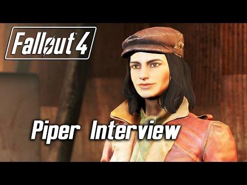 Fallout 4 - Companions - Piper Interview