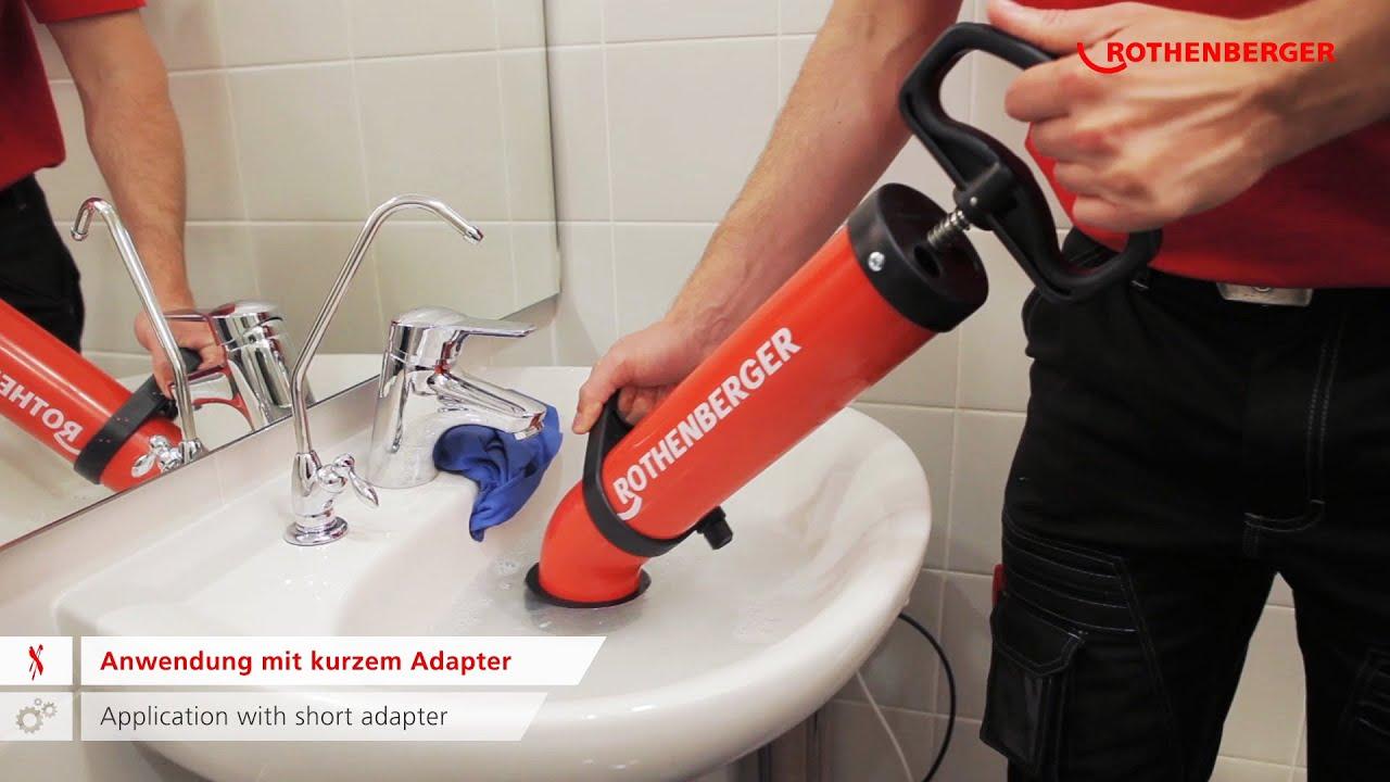 Ropump Super Plus Saug Druckreiniger Force Pump Cleaner Youtube