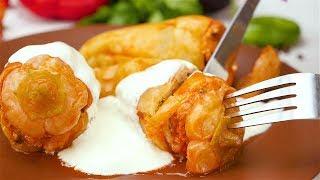 Фаршированный перец с рисом - Рецепты от Со Вкусом