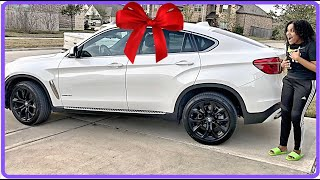 I SURPRISED MY WIFE WITH HER DREAM CAR FOR HER BIRTHDAY!!!!!