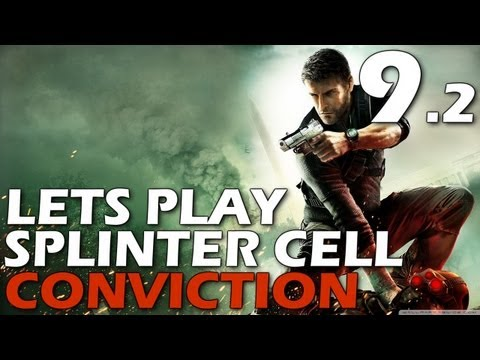 Lets Play: Splinter Cell Conviction - Michigan Avenue Reservoir (Episode 9, Part 2)