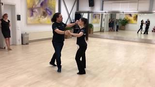 Samba - Silver routine intermediate