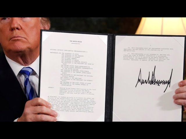 Analysis: President Trump's decision on the Iran nuclear deal
