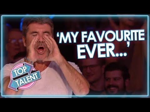 Simon Cowell's FAVOURITE EVER UK Auditions! Got Talent and X