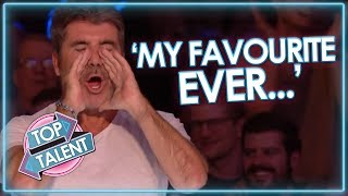Simon Cowell\'s FAVOURITE EVER UK Auditions! Got Talent and X Factor | Top Talent