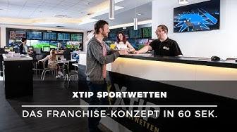 Selbstständig machen mit Sportwetten – Franchise-Konzept von XTiP Sportwetten in 60 Sek. erklärt