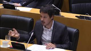 Réplica de Segundo González durante la comparecencia de la ministra de Hacienda