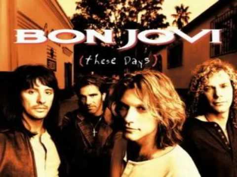 These days (Bon Jovi) - Karaoke