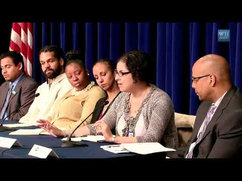 White House Conversation with Youth Build Membership
