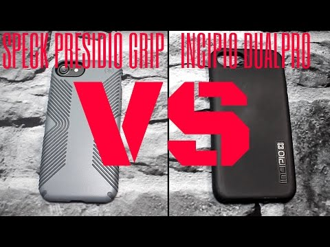 Speck Presidio Grip VS Incipio Dual Pro || Who Will Win?