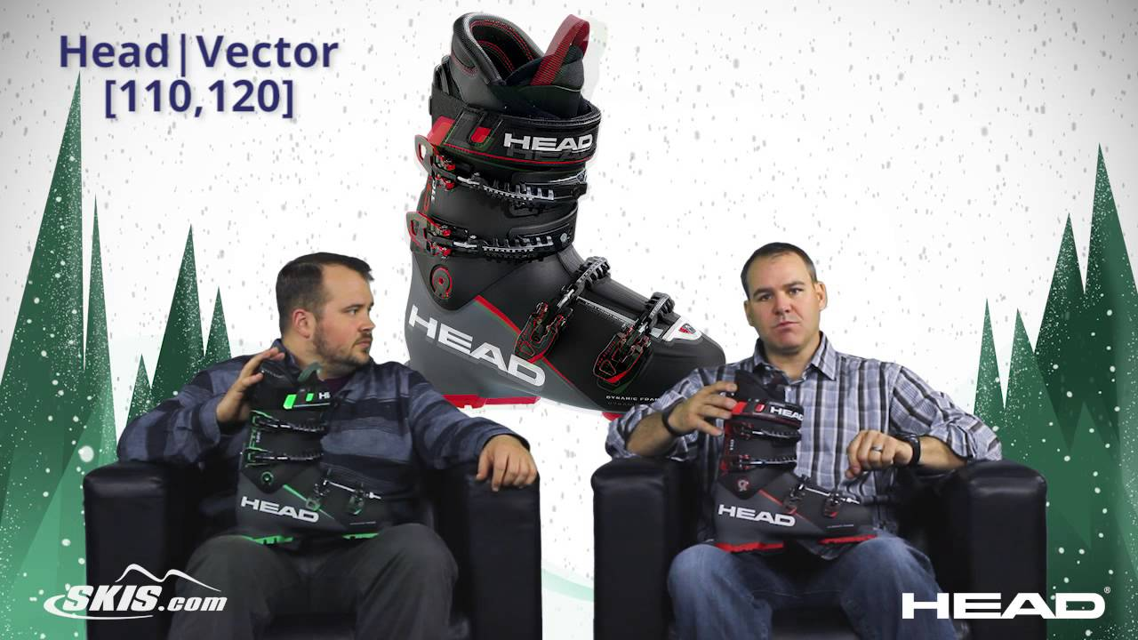 2017 Head Vector EVO 110 and 120 Mens Boot Overview by SkisDotCom ... b9ff8af8c2e8