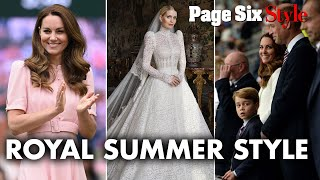 From Kitty Spencer's wedding to Wimbledon: Summer's top royal style moments| Page Six Celebrity News